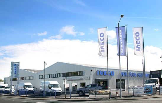 Purpose built and recently refurbished dealership